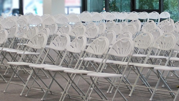 When Folding Chairs Are A Sensible Solution