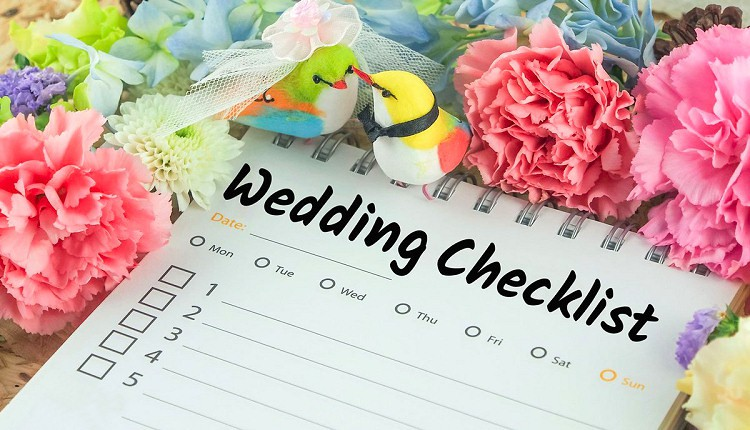 First 5 Things To Check Off Your Wedding Todo List