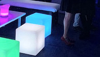 Illuminated Wedding Furniture