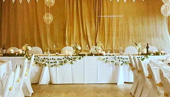 Tables, Linen & Chair Covers