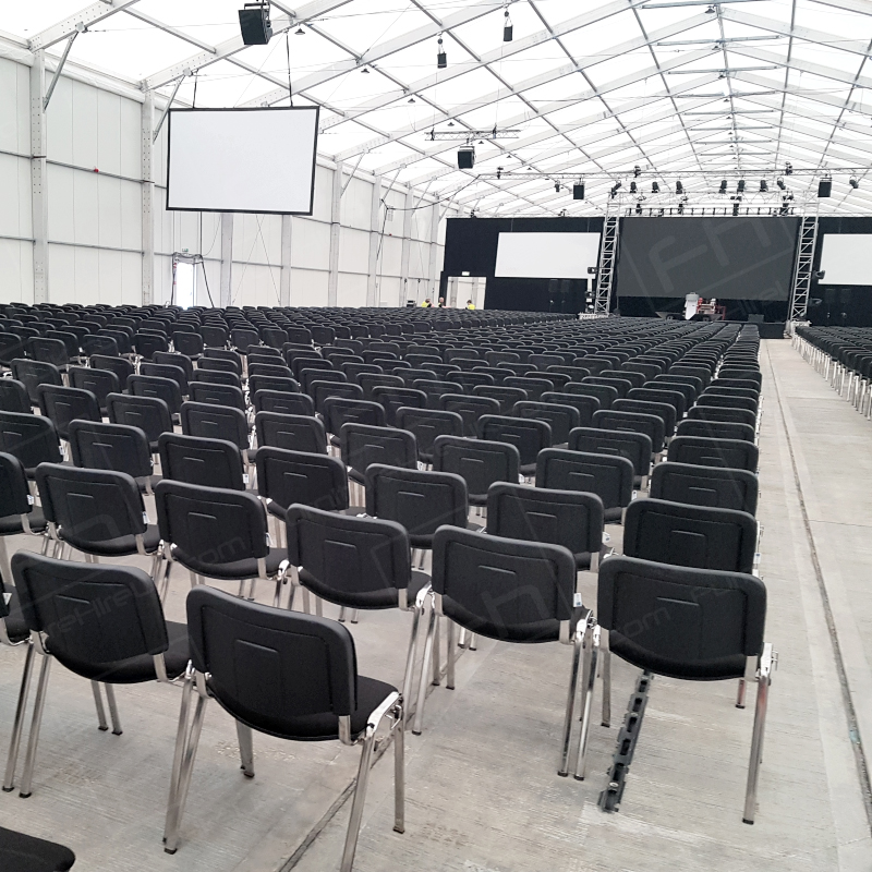 Stacking chairs for Furniture hire uk