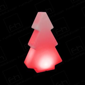 100cm Red Illuminated Tree