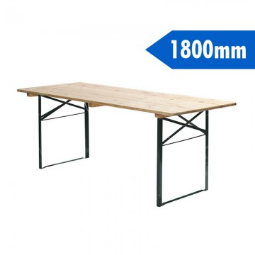 1800mm Wooden Table Furniture Hire Uk