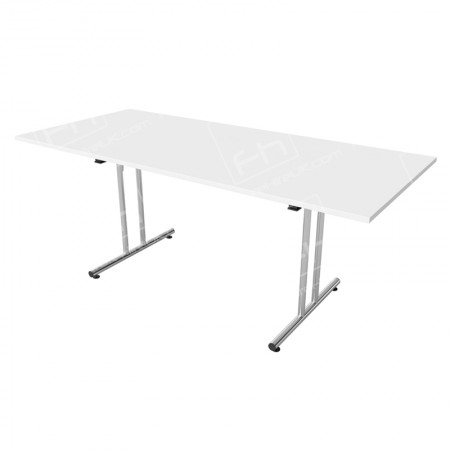 1800mm White Modular Rectangular Table