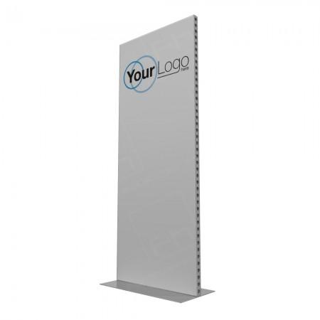 1m Lightweight Portable Aluminium Partition With Branding