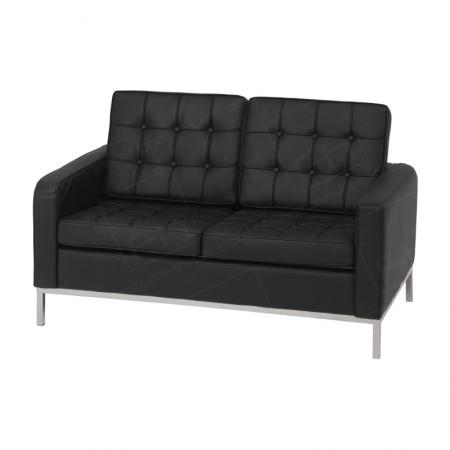 2 Seater Montague Sofa Hire Black