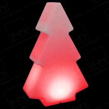 200cm Red Illuminated Tree