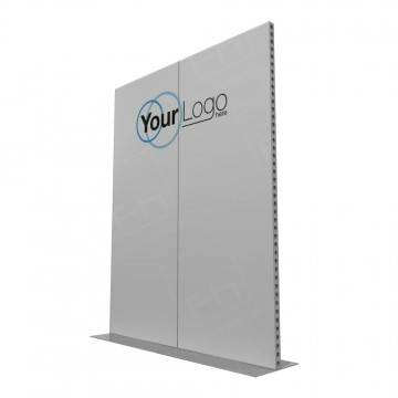 2m Lightweight Portable Aluminium Partition With Branding