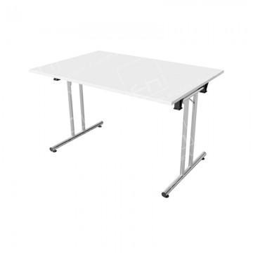 1200mm White Modular Rectangular Table