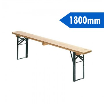 1800mm Wooden Bench Furniture Hire Uk