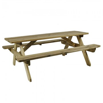 6 Seater Picnic Table Hire