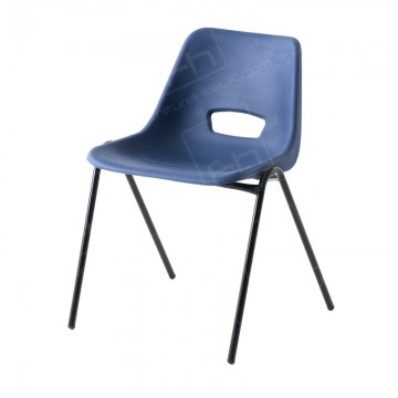 Blue Polyprop Chair