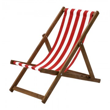 Deck Chair Hire Red