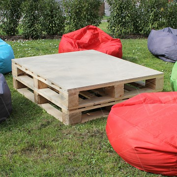 Rustic Pallet Table Furniture Hire Uk