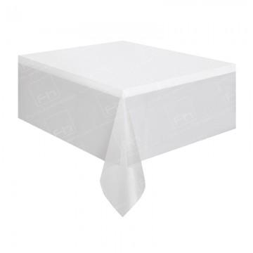 4ft Rectangular Table Cloth White