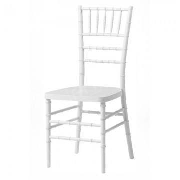 White Resin Chiavari Chair