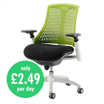 Wickford Task Operator Chair Green Daily