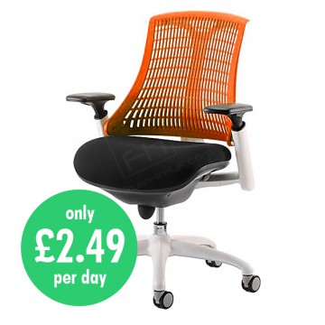Wickford Task Operator Chair Orange Daily