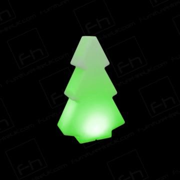 45cm Green Illuminated Tree