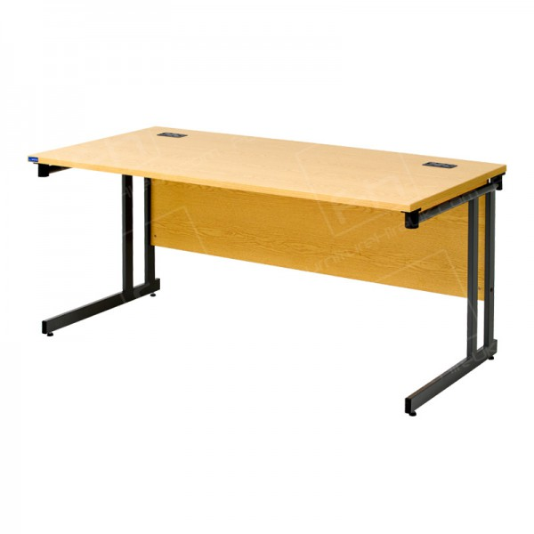 1600 x 800mm Light Oak Desk