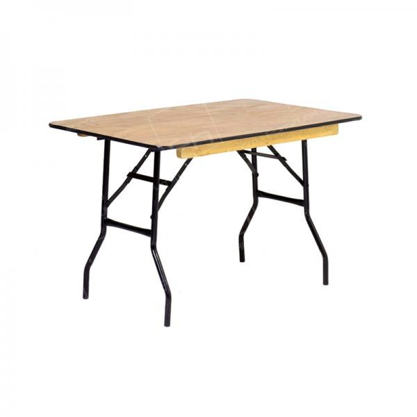 4ft Rectangular Trestle Table Hire (Seats 4-6)