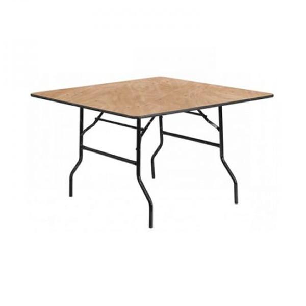 4ft Square Trestle Table Hire (Seats 4)