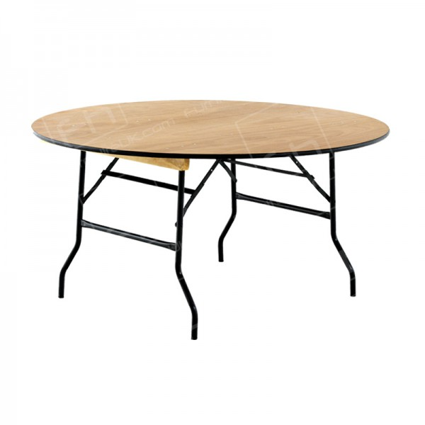 5ft Round Banquet Table Hire (Seats 6-8)