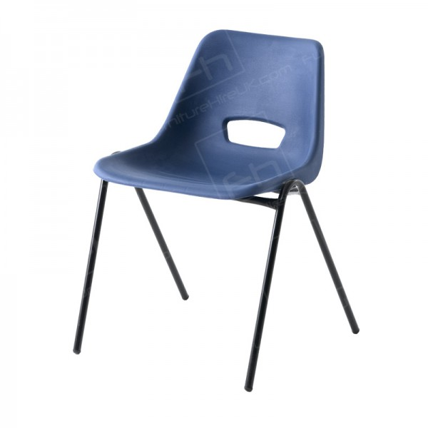 Dark Blue Polyprop Chair