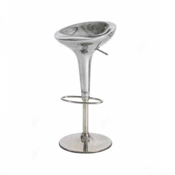 Bombo Stool - Silver