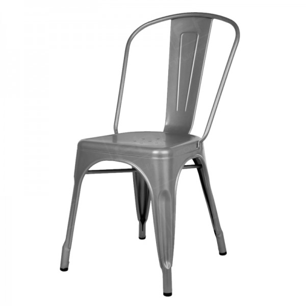 Grey Tolix Style Chair