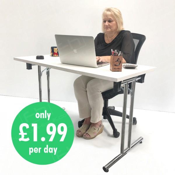 Package B - Desk & Ergonomic Chair