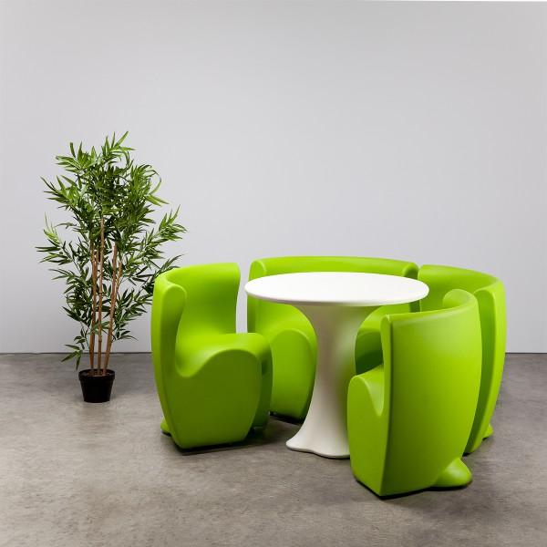 Petal Dining Set - Green