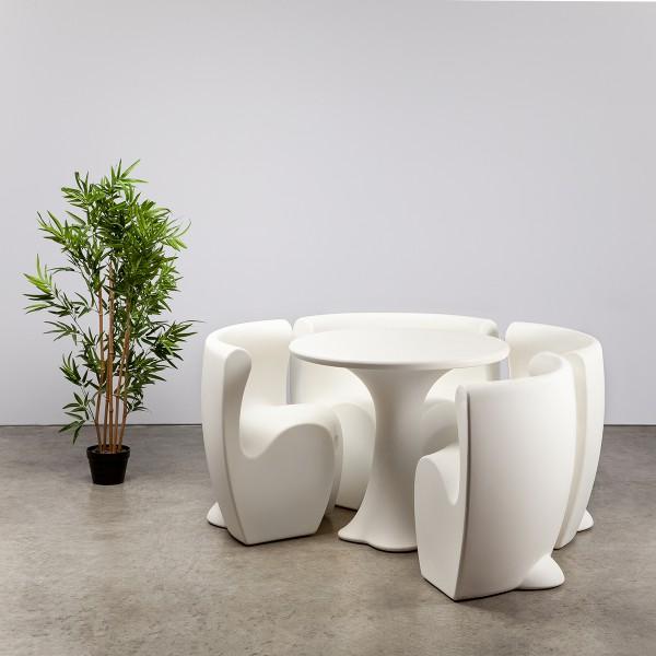 Petal Dining Set - White