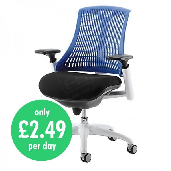 Wickford Task Operator Chair - Blue