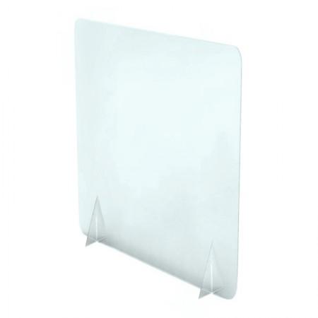 700 X 900 Freestanding Desktop Counter Covid Screen Hire Uk London 2 Uk Non Windowed