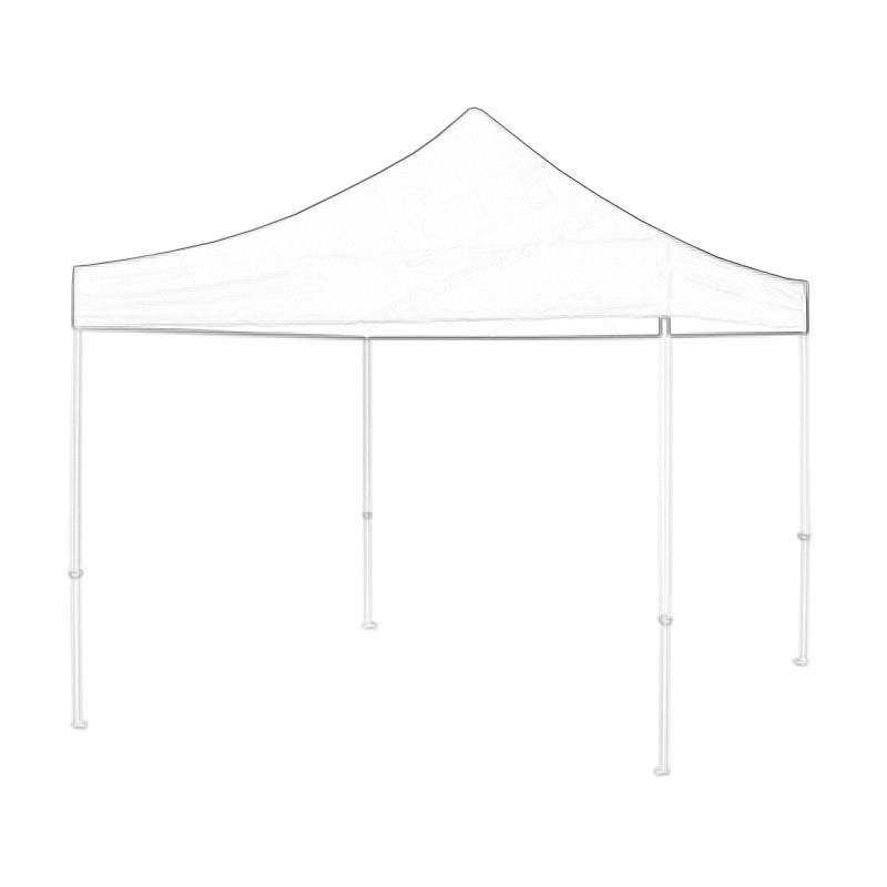 Black Popup Marquee 3x3m Wireframe