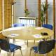 1600 x 800mm Light Oak Modular D-End Table 3