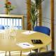 1600 x 800mm Light Oak Modular D-End Table 4