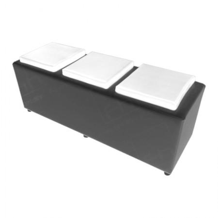 Black Cube Bench Rental