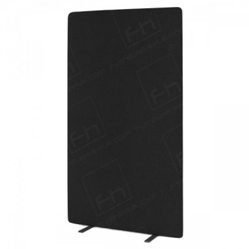 Black Freestanding Pinboard 1800h X 1000w