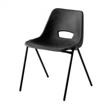 Black Polyprop Chair