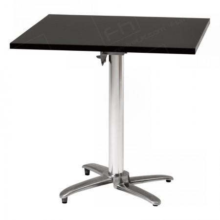 Black Square Bistro Table Hire