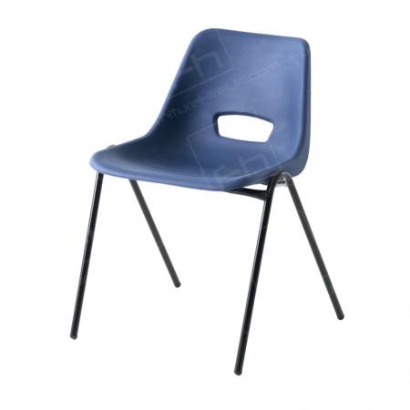 Blue Polyprop Chair