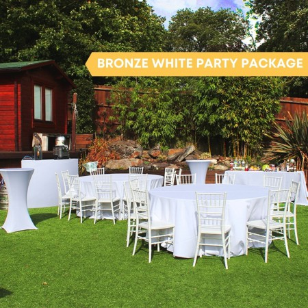 Bronze White Party Package