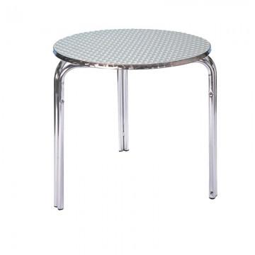 Chrome Bistro Table 3 Legs