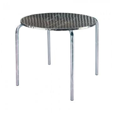 Chrome Bistro Table 4 Legs