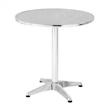 Chrome Bistro Table