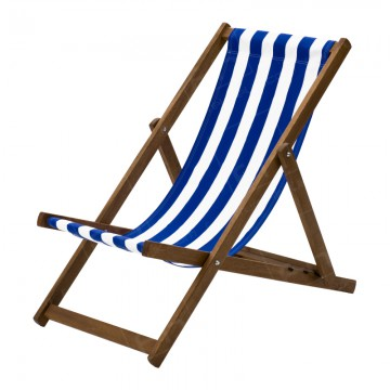 Deckchair Hire Blue