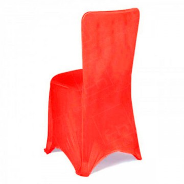 Fitted Lycra Chair Cover Red