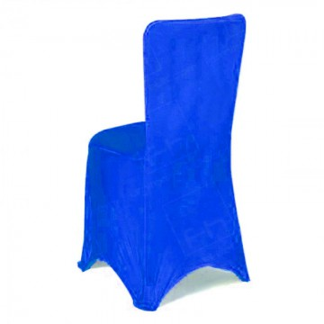 Fitted Lycra Chair Cover Royal Blue